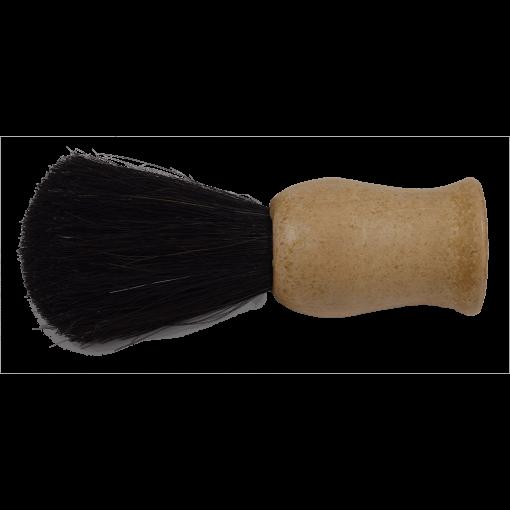 Brocha de afeitar mango madera c/ tubo